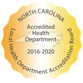 Accredited Health Department 2016-2020