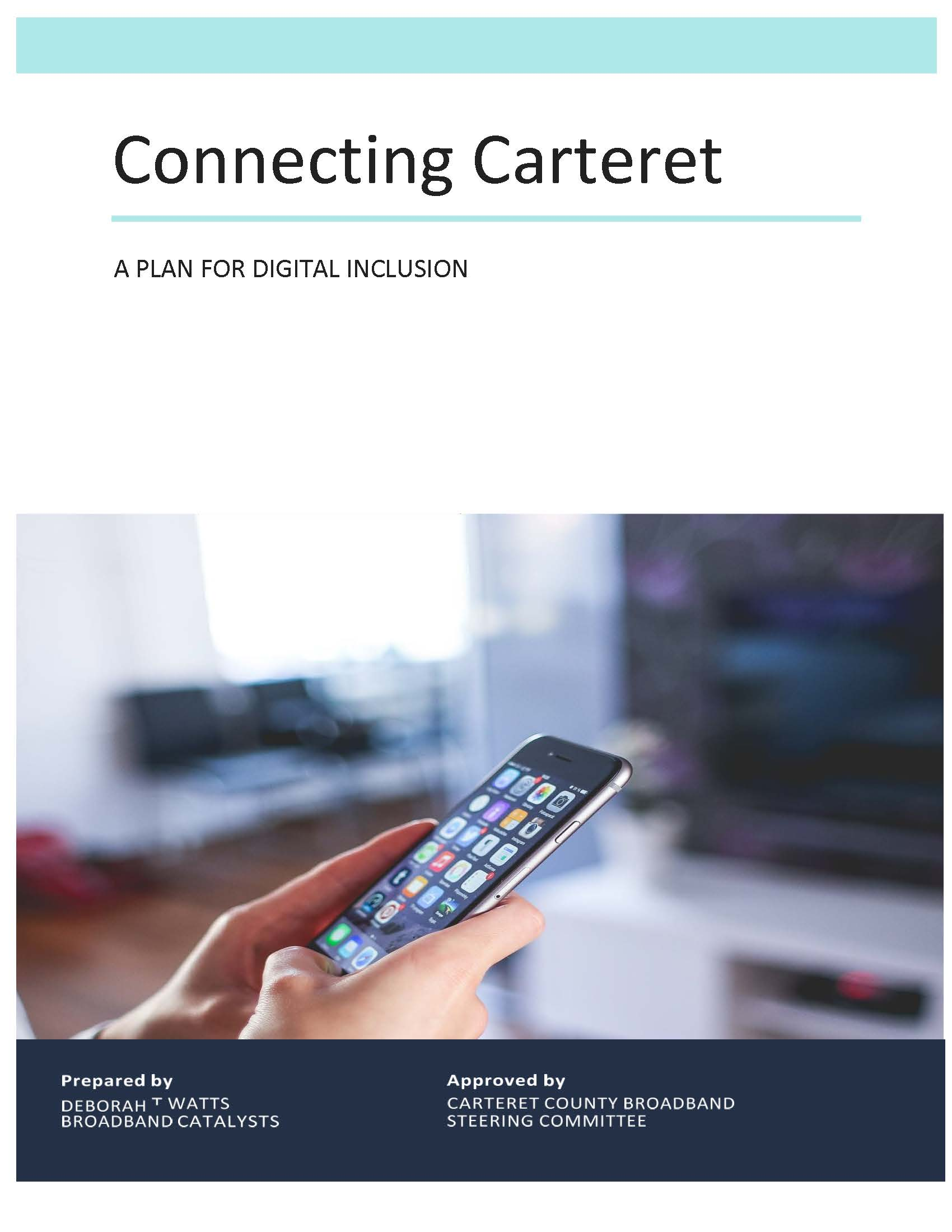 Final ED Carteret County Digital Inclusion Plan (02-04-21) PDF_Page_01